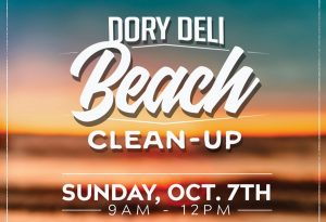 Dory's Deli brought out lots of people to clean up on 10/7/2018
